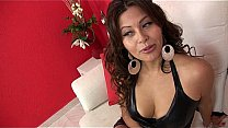 Ecuadorian Studentin in ihrer erste Pornofilm audition