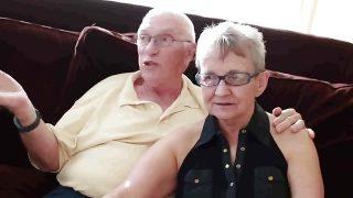 Omi und Opa mit Bursche