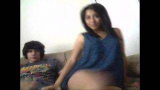 Desi Indian Freundin mit Weiße Freund