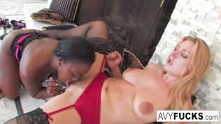 geiler Avy Scott liebt Aryana Starr