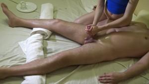 Geile Schwanz Massage für ihn – Orgasmus Kontrolle – ich bestimme wann du kommst!