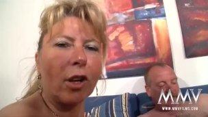 Amateure reife Frau Deutsche Omi