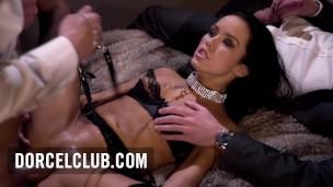 DORCEL Luxure Ausschnitt von DORCEL mit Megan Rain, dominated, extrem DP'