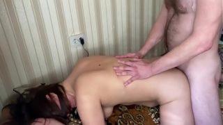 Hard pain anal Russian