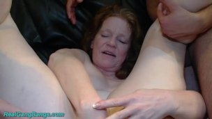 mom first time group banged