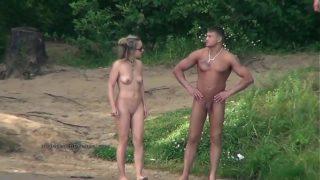 Spy videos mit die reale Lebe nudists'