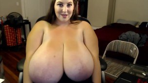 dicken echte Brüste